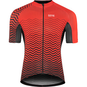 GORE WEAR C3 Jersey Herre red/black